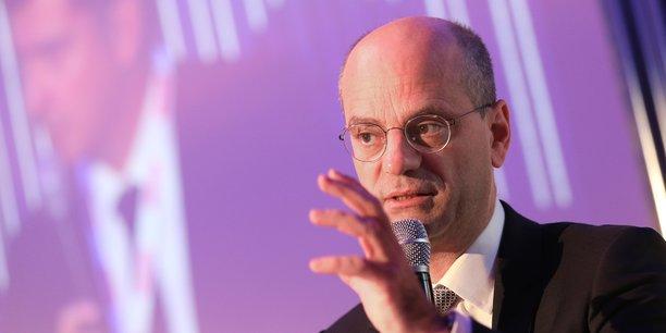 Jean-Michel Blanquer, ministre de l'Éducation nationale en déplacement à Toulouse ce vendredi 24 novembre.