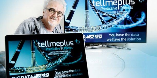 Jean-Michel Cambot (ex-Business Objects) a créé TellMePlus en 2011 à Montpellier