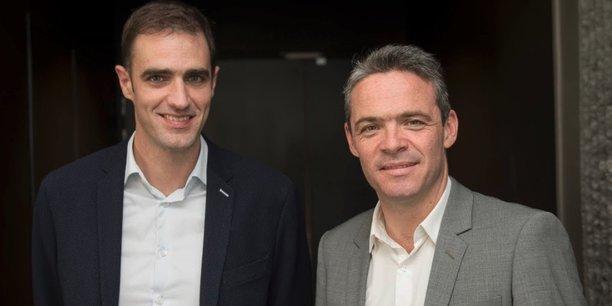 Olivier Marc (à gauche) et David Le Douarin (à droite), les deux fondateurs d'Advalo.