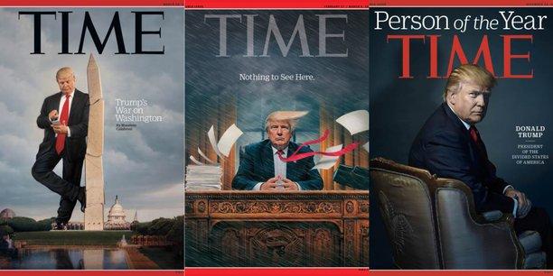 Comme tous les médias de la planète, le newsagazine Time a lui aussi largement couvert la campagne du candidat Trump puis son exercice du pouvoir si particulier. Qu'adviendra-t-il de la ligne éditoriale de ce magazine d'information avec l'entrée d'actionnaires tels que les frères Koch, milliardaires libertariens.