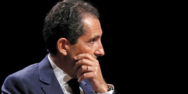 Patrick Drahi, le fondateur et propriétaire d'Altice (maison-mère de SFR).