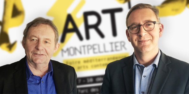 Didier Vesse (Art up!) et Cédric Fiollet (Montpellier Events)