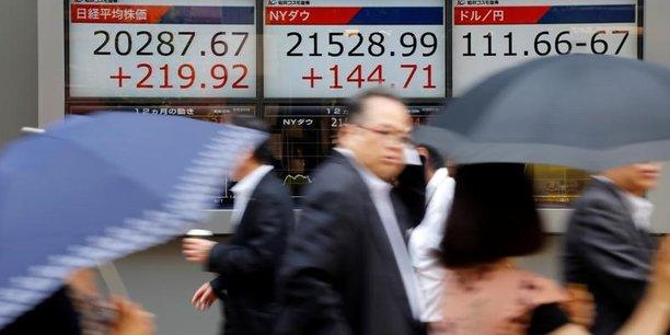 La bourse de tokyo finit en nette hausse[reuters.com]