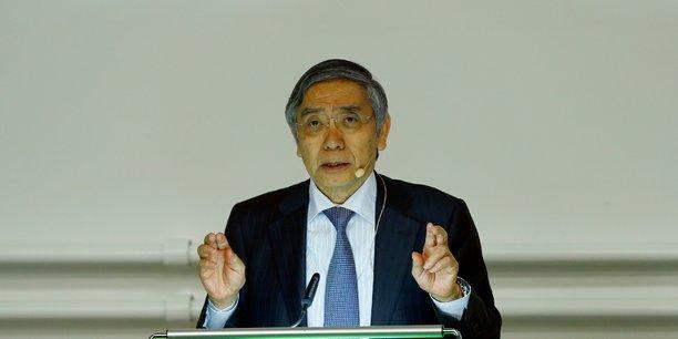 Kuroda (boj) laisse planer la possibilite d'un denouement du qqe[reuters.com]