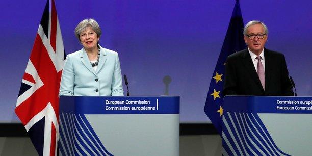 La Grande-Bretagne et l'UE sont parvenues à un accord de principe sur les modalités de leur divorce, qui doit avoir lieu en mars 2019.