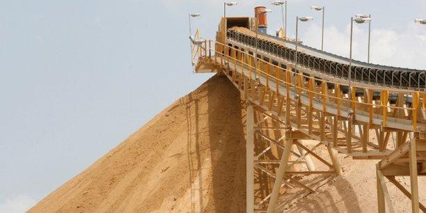 Site d'exploitation de la mine d'or de Bonikro, située à 240 km au nord-ouest de la capitale ivoirienne, Abidjan.