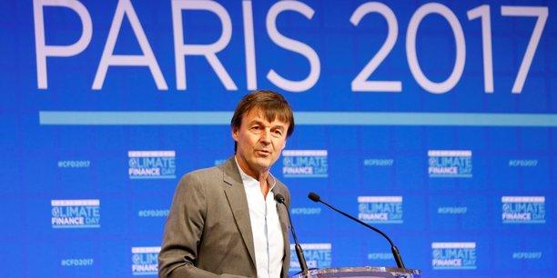 Nicolas Hulot, le ministre de la Transition écologique et solidaire s'est interrogé : la finance au chevet de la planète ? faut-il s'en inquiéter ou s'en réjouir ? en ouverture de la journée de la finance climat.