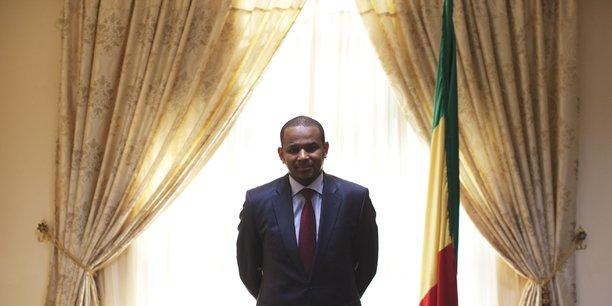 Boubou Cissé, ministre de l'Economie et des Finances du Mali