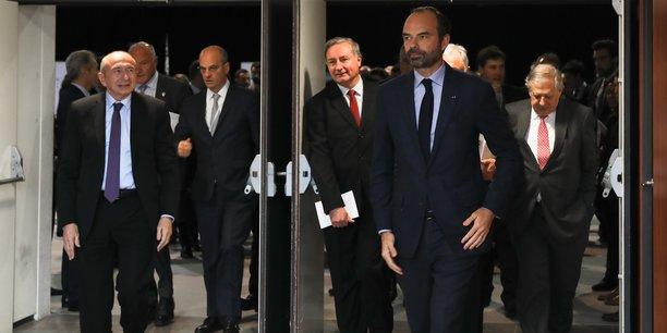 Édouard Philippe, une majeure partie de son cabinet et 13 de ses ministres étaient dans le Lot ce jeudi 14 décembre.