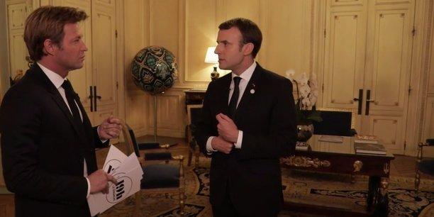 L'audiovisuel public français, c'est de très loin, pour l'Etat, le premier budget de la culture, donc il y a de l'argent, a rappelé Emmanuel Macron.