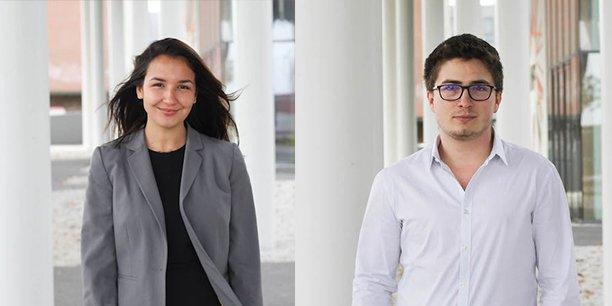 Lise Slimane et Simon Clériot, cofondateurs de Captiz