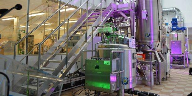 L'usine de Fermentalg, à Libourne.