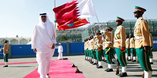 L'Émir du Qatar est arrivé à Conakry — Visite d'Etat