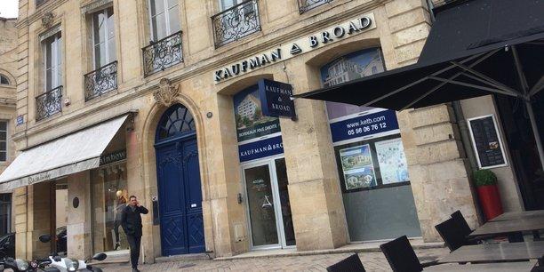 Kaufman & Broad va rejoindre les anciens locaux de Foncia et laisser la place à W'in au 30 allées de Tourny, à proximité immédiate de la place de la Comédie à Bordeaux