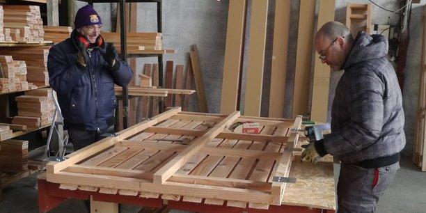 41% des salariés de la filière bois travaillent dans une activité de construction.