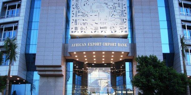 Le siège social de la Banque africaine d'import-export (Afreximbank) dans la capitale égyptienne, Le Caire.