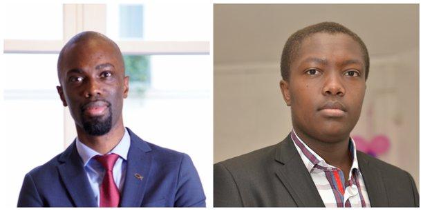 Landry Djimpe (à droite) et Jean-Louis Traoré.