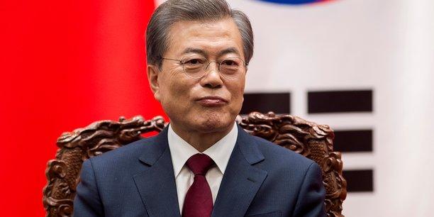 Le président sud-coréen a demandé aux ministres des Sports et de l'Unification de prendre rapidement des mesures pour permettre la venue d'athlètes nord-coréens.