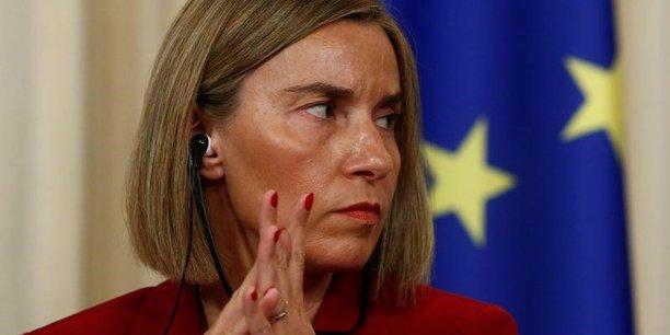 La porte-parole de la diplomatie europeenne en visite a cuba[reuters.com]