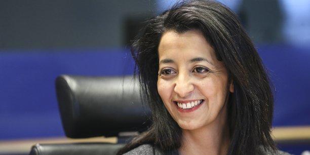 Karima Delli, député européenne (Europe Ecologie Les Verts) et présidente de la Commission Transport et Tourisme du Parlement européen.
