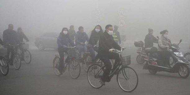 Pékin a réduit l'activité de ses industries lourdes dans le nord du pays dans le but de limiter les surcapacités mais aussi de lutter contre la pollution atmosphérique..