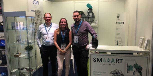 L'équipe de SMAART au salon MedPI 2017