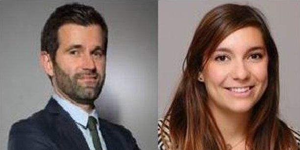 Jean-Baptiste Chanial et Cécile Louwers