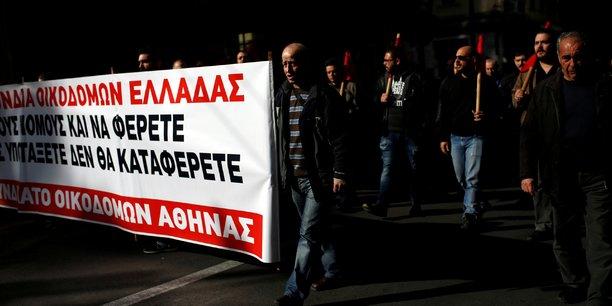 Greve et marche a athenes contre une reforme du droit de greve[reuters.com]