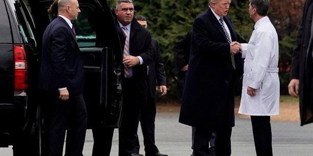 Donald trump en excellente sante, dit le medecin presidentiel[reuters.com]