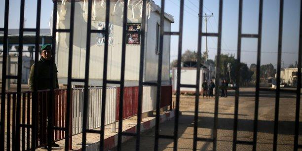 Israel detruit un tunnel d'attaque du hamas a gaza[reuters.com]