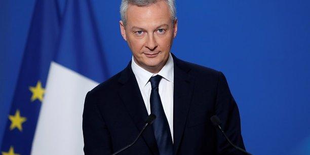 Le ministre de l'Economie et des Finances Bruno Le Maire a estimé lundi que la croissance économique française devrait approcher les 2% en 2017, soit 0,3 point de plus que la prévision officielle du gouvernement.