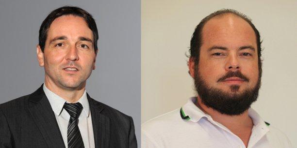 Olivier Alluis, nouveau CEO et Florian Lemoine, nouveau CTO de Rakuten Aquafadas