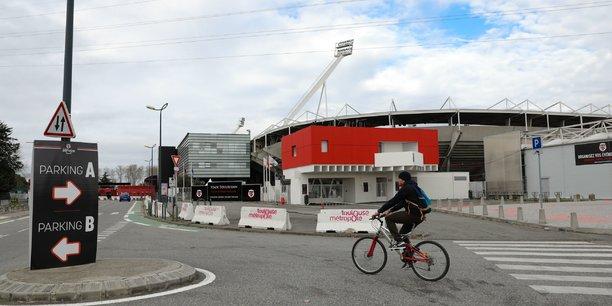 Le parking et le barnum du Stade Toulousain font parties des sites sélectionnés.