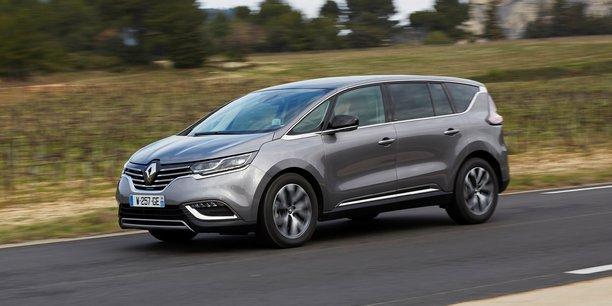 L'Espace Renault a vu ses ventes baisser d'un tiers en 2017, moins de deux ans après son lancement, soit une performance décevante.
