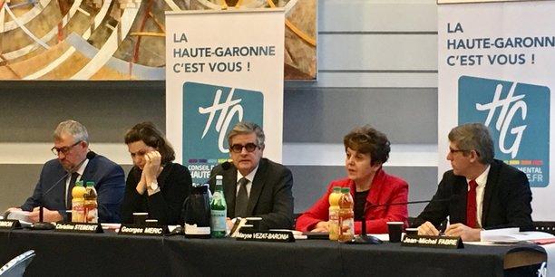 Georges Méric s'est montré ferme sur ses intentions concernant l'aéroport de Toulouse-Blagnac lors de ses voeux à la presse 2018.