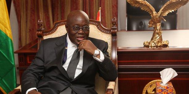 Le président ghanéen Nana Akufo-Addo semble enthousiaste quant à la situation économique du pays pour l'année qui vient de débuter.