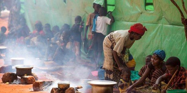 La FAO, l'Unicef et le PAM estiment que 400.000 enfants de moins de cinq ans souffrent de malnutrition aiguë sévère, et sont en danger de mort dans la région du Kasaï.