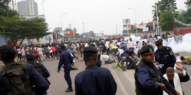 Trois morts lors d'une manifestation anti-kabila a kinshasa, selon une ong[reuters.com]