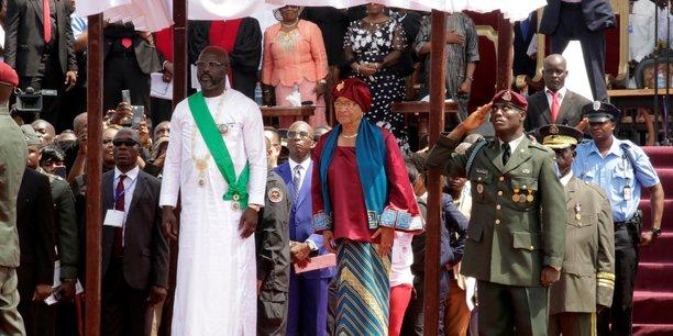 George weah investi president du liberia[reuters.com]