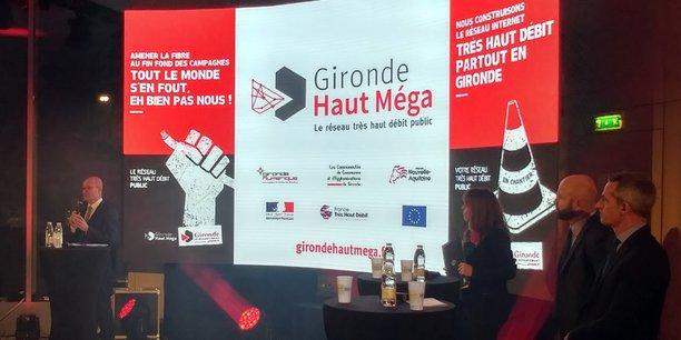 Jean-Luc Gleyze, le président (PS) du Département de la Gironde, a dévoilé, jeudi 25 janvier, l'opérateur retenu pour le plan Haut Méga : Orange.