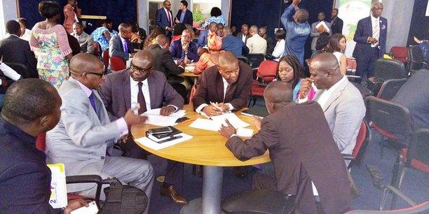 Rencontre BtoB entre entrepreneurs congolais et sud-africains, en mars 2017 à Brazzaville.