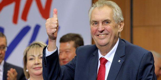 L'élection de Milos Zeman reflète la polarisation de la vie politique en République tchèque, entre un camp progressiste et libéral et un camp nationaliste et conservateur. Milos Zeman a été un des rares dirigeants européens à soutenir la candidature de Donald Trump à l'élection présidentielle américaine de 2016.