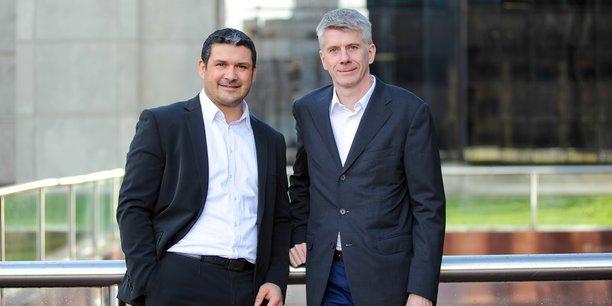 Les deux cofondateurs, Thomas Lagier (à gauche) et François Grosse (à droite).