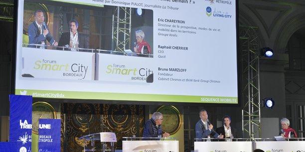Le Forum Smart City Bordeaux réunit chaque année près de 500 personnes et fait intervenir des experts de tous horizons