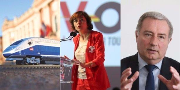 Les élus toulousains sont satisfaits que la LGV Bordeaux-Toulouse soit classée parmi les chantiers prioritaires.