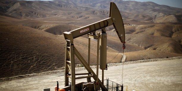 Une station de pompage de pétrole à Monterey Shale, en Californie.