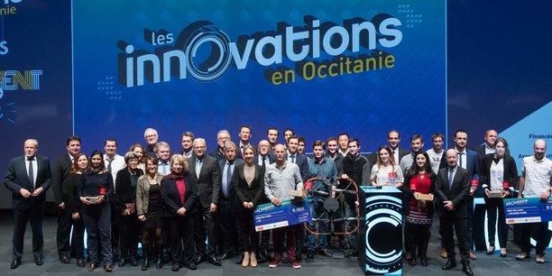 Les lauréats du concours Innovations en Occitanie.