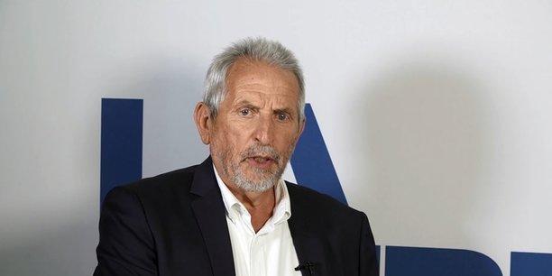 Jean-Pierre Raynaud, vice-président du Conseil régional de Nouvelle-Aquitaine en charge de l'agriculture, de l'agroalimentaire, de la forêt, de la mer et de la montagne