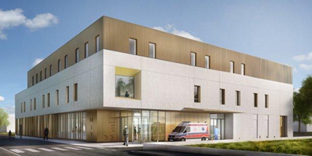 La future unité des maladies infectieuses et tropicales du CHU de Montpellier sera livrée en 2019.