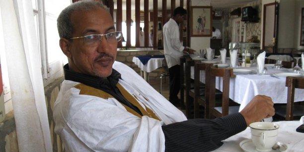 Fall Ould Oumeir, journaliste mauritanien.